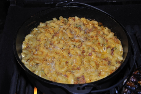 Grilled Macaroni and Cheese