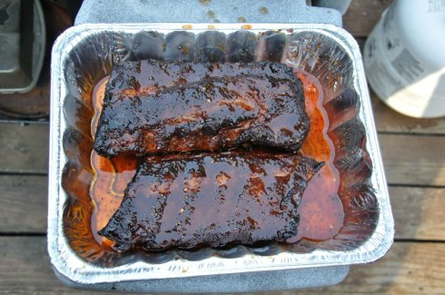 Step 4 - Finish the Ribs.